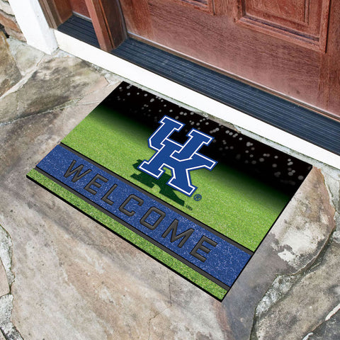 NCAA Kentucky Wildcats Recycled Rubber CRUMB Doormat - Bed, Bath, And My Team