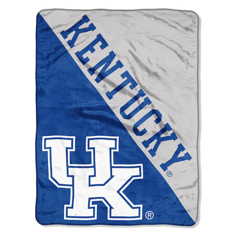 NCAA Kentucky Wildcats Micro Raschel Throw - Bed, Bath, And My Team
