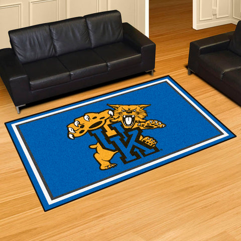 NCAA Kentucky Wildcats LOGO 5 X 8 Ft. Area Rug - Bed, Bath, And My Team