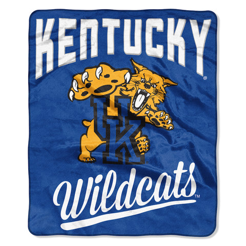 NCAA Kentucky Wildcats 50 x 60 Alumni Raschel Throw Blanket - Bed, Bath, And My Team