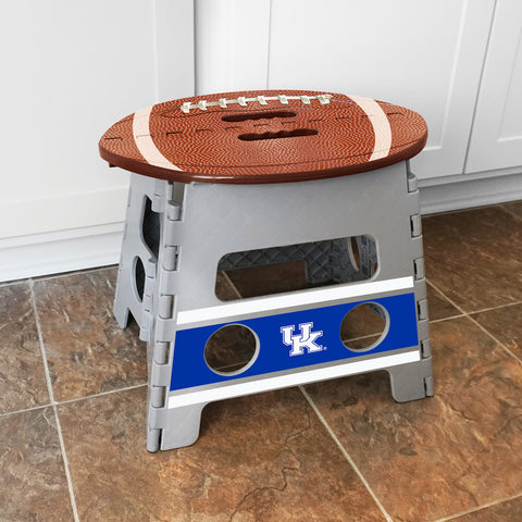 NCAA Kentucky Wildcats Folding Step Stool - Bed, Bath, And My Team