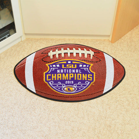 LSU Tigers NCAA Football Champions Football Mat