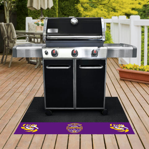 LSU Tigers NCAA Football Champions Grill Mat