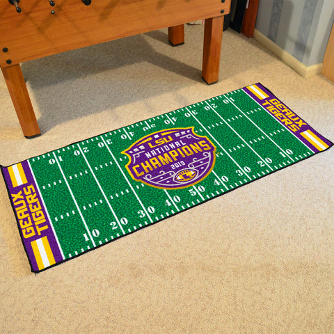 LSU Tigers NCAA Football Champions Carpet Runner Rug
