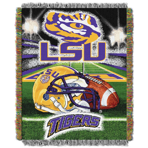 NCAA LSU Tigers HOME FIELD ADVANTAGE Tapestry - Bed, Bath, And My Team