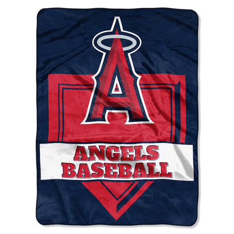 Los Angeles Angels large plush blanket