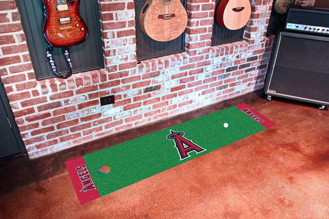 Los Angeles Angels Golf Putting Green Mat