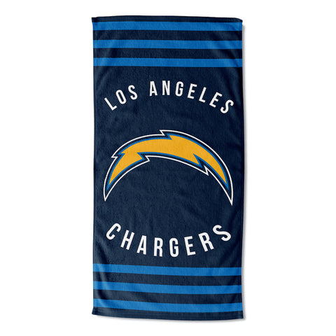 Los Angeles Chargers Beach Towel