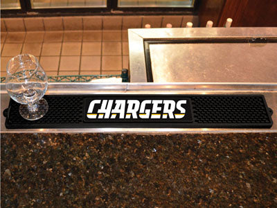 Los Angeles Chargers Bar Drink Mat
