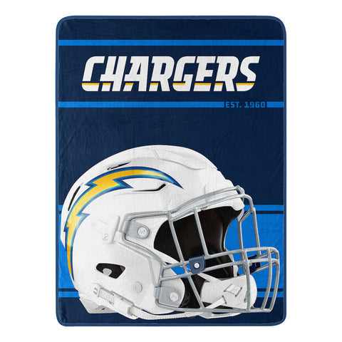 Los Angeles Chargers Micro Raschel Throw