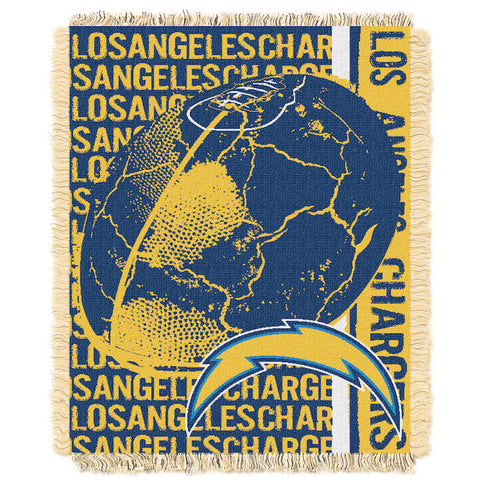 NFL Los Angeles Chargers Woven Decorative Tapestry - Bed, Bath, And My Team