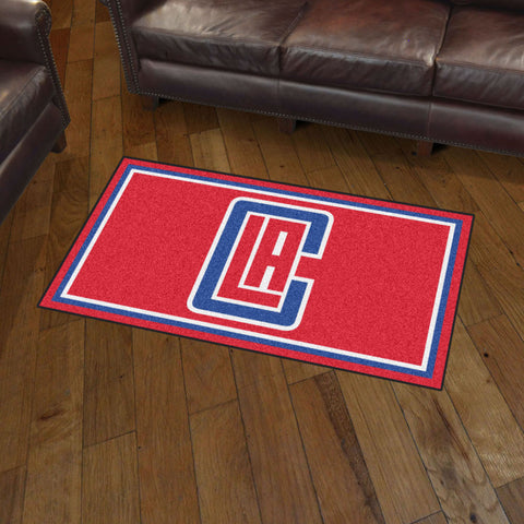 Los Angeles Clippers 3 x 5 area rug