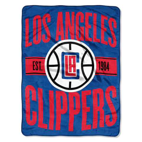 Los Angeles Clippers Micro Raschel Throw