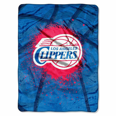 Los Angeles Clippers large plush blanket