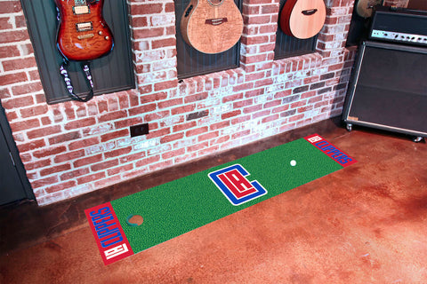 Los Angeles Clippers Golf Putting Green Mat
