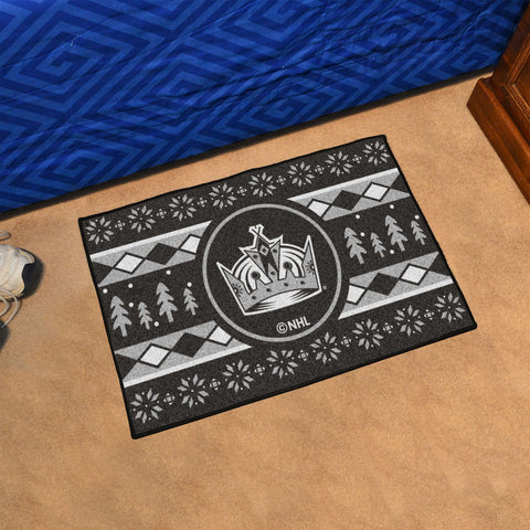 Los Angeles Kings Holiday Sweater Rug