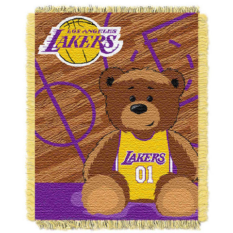 Los Angeles Lakers Baby Blanket
