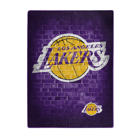 Los Angeles Lakers large plush blanket