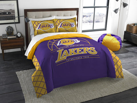 Los Angeles Lakers queen/full comforter and 2 shams