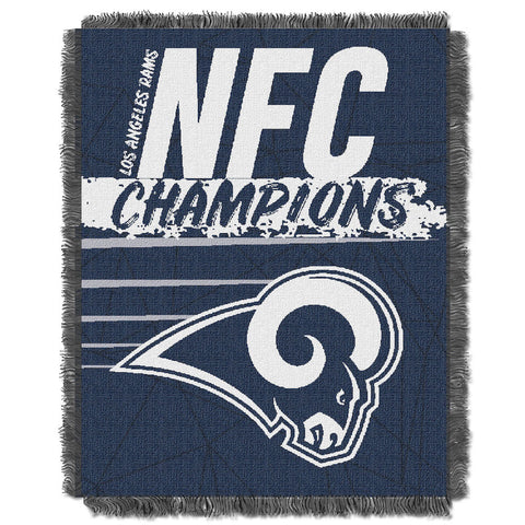 Los Angeles Rams NFC Champions Tapestry