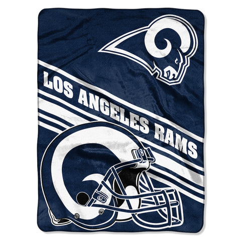 Los Angeles Rams large plush blanket