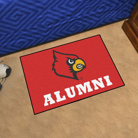 NCAA Louisville Cardinals ALUMNI Starter Rug - Bed, Bath, And My Team