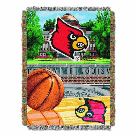 NCAA Louisville Cardinals HOME FIELD ADVANTAGE Tapestry - Bed, Bath, And My Team