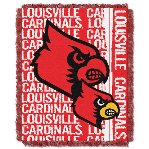 NCAA Louisville Cardinals Woven Decorative Tapestry - Bed, Bath, And My Team