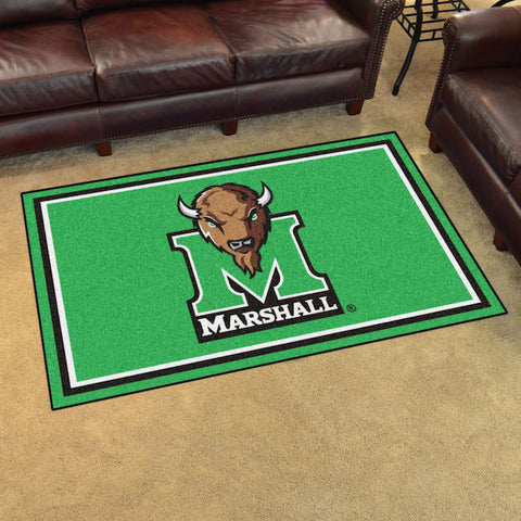 NCAA Marshall Thundering Herd 4 X 6 Ft. Area Rug - Bed, Bath, And My Team