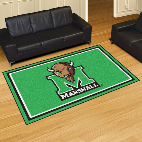 NCAA Marshall Thundering Herd 5 X 8 Ft. Area Rug - Bed, Bath, And My Team