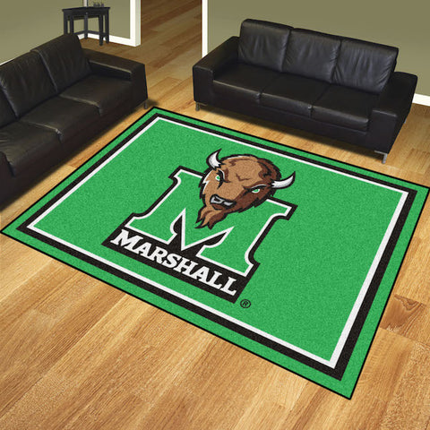 NCAA Marshall Thundering Herd 8 X 10 Ft. Area Rug - Bed, Bath, And My Team