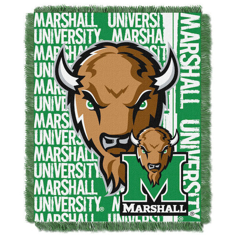 NCAA Marshall Thundering Herd Woven Decorative Tapestry - Bed, Bath, And My Team