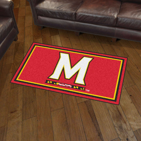 NCAA Maryland Terrapins 3 X 5 Ft. Plush Area Rug - Bed, Bath, And My Team