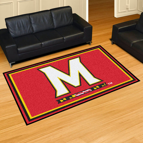 NCAA Maryland Terrapins 5 X 8 Ft. Area Rug - Bed, Bath, And My Team