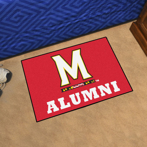 NCAA Maryland Terrapins ALUMNI Starter Rug - Bed, Bath, And My Team