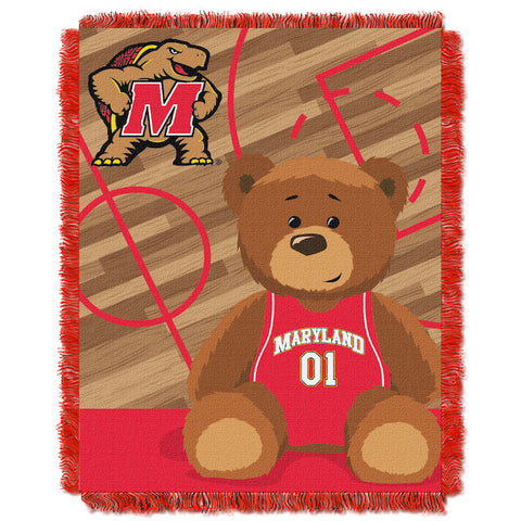NCAA Maryland Terrapins Baby Blanket - Bed, Bath, And My Team