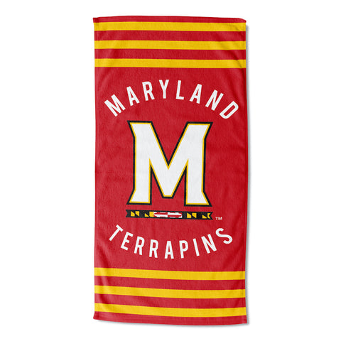 NCAA Maryland Terrapins Beach Towel - Bed, Bath, And My Team