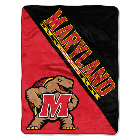 NCAA Maryland Terrapins Micro Raschel Throw - Bed, Bath, And My Team