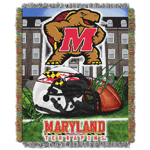 NCAA Maryland Terrapins HOME FIELD ADVANTAGE Tapestry - Bed, Bath, And My Team