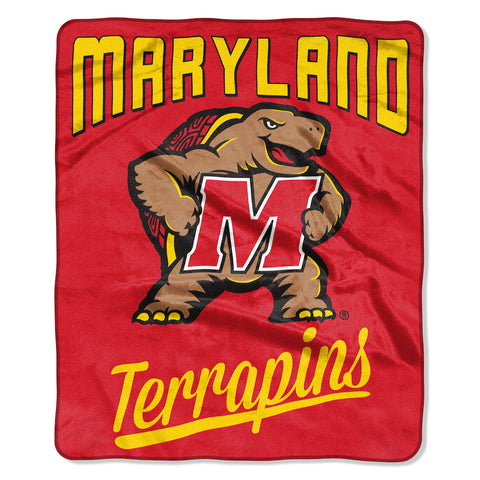 NCAA Maryland Terrapins 50 x 60 Alumni Raschel Throw Blanket - Bed, Bath, And My Team