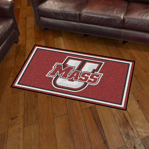 NCAA Massachusetts Minutemen 3 X 5 Ft. Plush Area Rug - Bed, Bath, And My Team