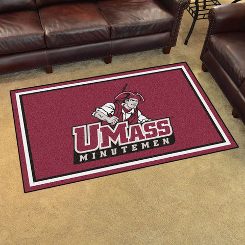 NCAA Massachusetts Minutemen 4 X 6 Ft. Area Rug - Bed, Bath, And My Team