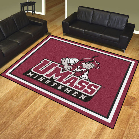 NCAA Massachusetts Minutemen 8 X 10 Ft. Area Rug - Bed, Bath, And My Team