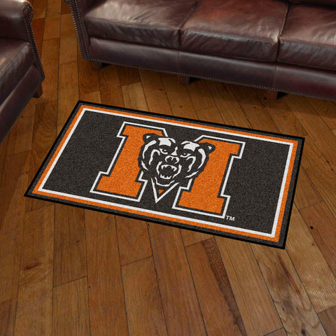 NCAA Mercer Bears 3 X 5 Ft. Plush Area Rug - Bed, Bath, And My Team