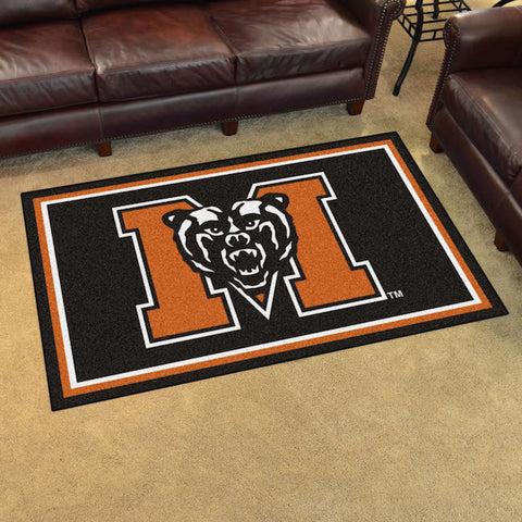 NCAA Mercer Bears 4 X 6 Ft. Area Rug - Bed, Bath, And My Team