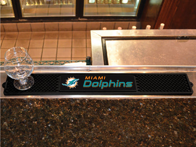 Miami Dolphins Bar Drink Mat