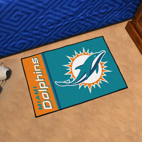 Miami Dolphins Uniform Inspired Starter Mat