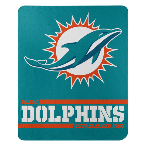 Miami Dolphins Fleece Throw