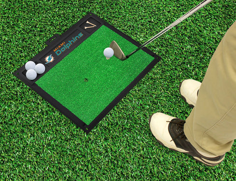 Miami Dolphins Golf Ball Hitting Mat