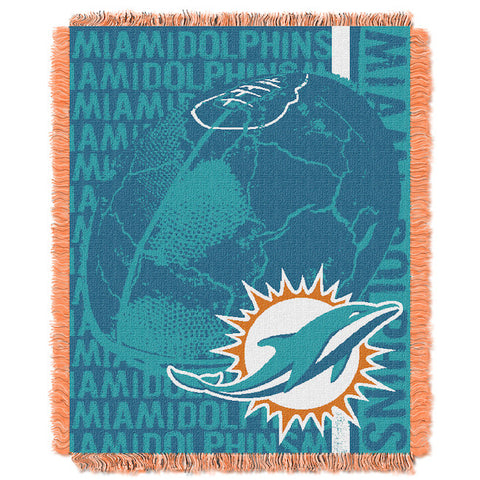 Miami Dolphins Woven Tapestry